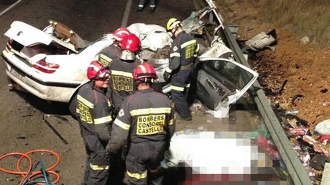 35 personas murieron en accidentes de tráfico entre enero y abril en la Comunitat
