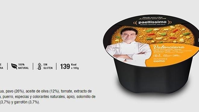 La paella de nabo y pavo de Pepe el de 'Masterchef'