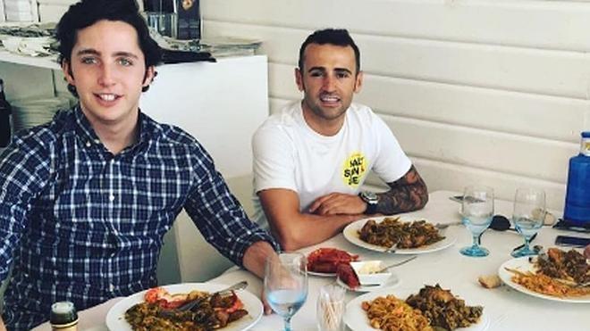 Héctor Barberá y el pequeño Nicolás