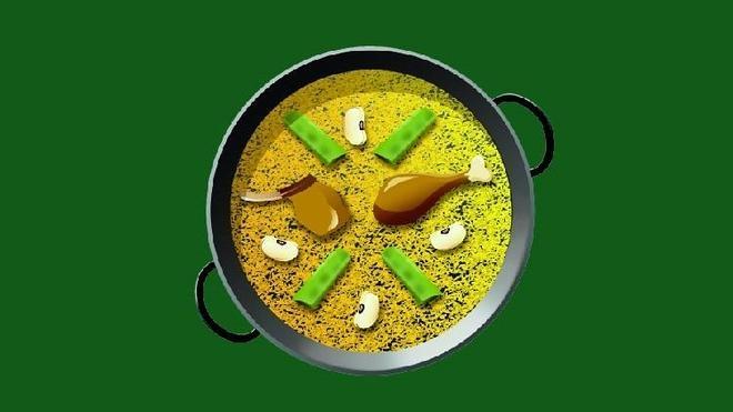 El emoji de paella, disponible en junio