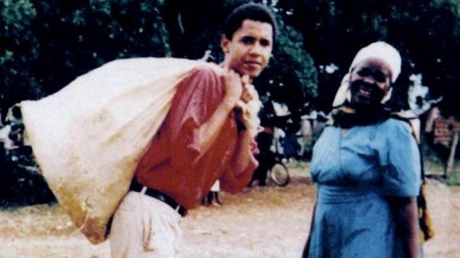 Obama, mochilero en España