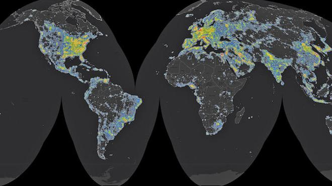 Un tercio de la humanidad no ve la Vía Láctea por la contaminación lumínica
