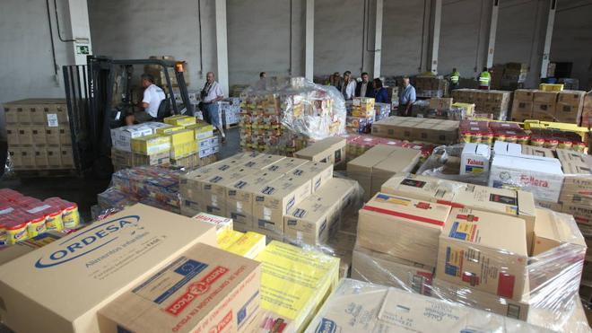 Un programa de ayuda alimentaria distribuirá más de 10,5 millones de kilos de comida en la Comunitat