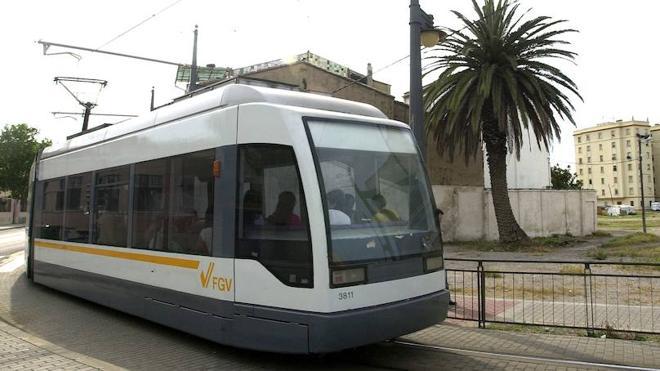 Horarios de metro y tranvía de Valencia para la noche de San Juan