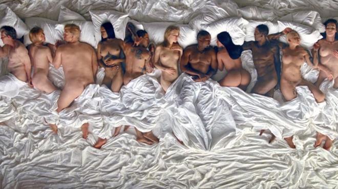 Kanye West desnuda a Taylor Swift en su último videoclip