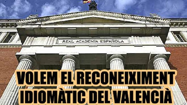 Plataforma Valencianista instará a la RAE a reconocer el valenciano