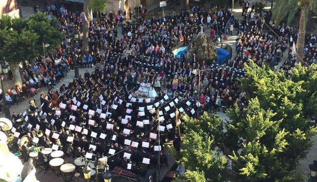 Muro de Alcoi gana la sección primera del certamen de bandas Ciudad Valencia