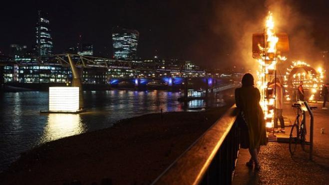 Londres arde 350 años después