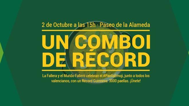 Récord Guinness de paellas en Valencia: precio, fecha, lugar y cómo inscribirse al Combio de Récord