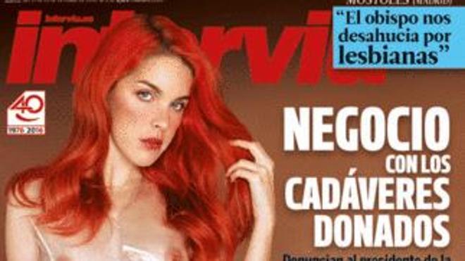 Amarna Miller, actriz porno, portada de 'Interviú'