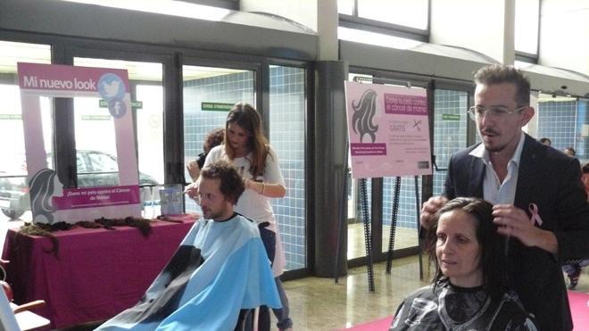 Recogen más de 3 kilos de pelo para hacer pelucas para mujeres con cáncer de mama