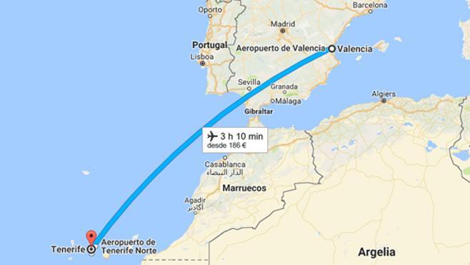 Muere al reventarle dos bellotas de cocaína que transportaba en un vuelo Valencia-Tenerife
