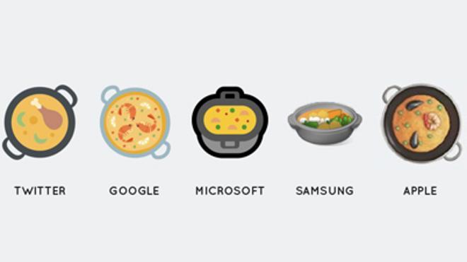 El emoticono de la paella llegará a todos los dispositivos móviles este mes