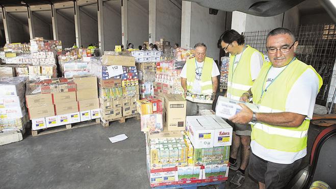 Banco de Alimentos necesita 110.000 voluntarios para este mes