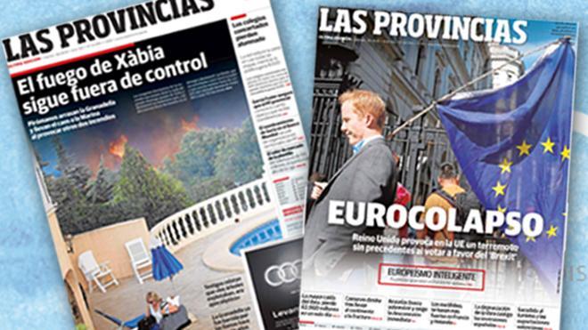 LAS PROVINCIAS, el periódico regional mejor diseñado de España y América Latina