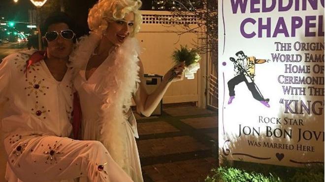 Eva González y Cayetano Rivera se dan el 'sí quiero' en Las Vegas