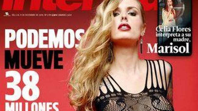 Mireia Pairó, portada de 'Interviú'