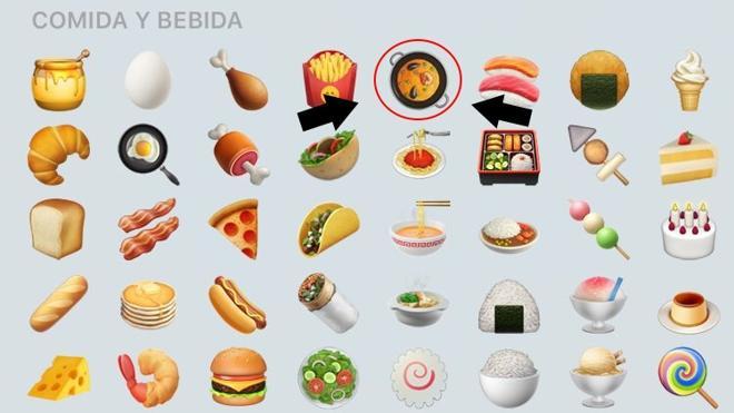 El emoticono de la paella ya está disponible en iPhone