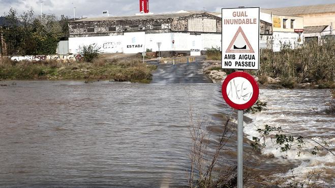 Gota fría en Valencia | Cortes de carreteras en la Comunitat Valenciana