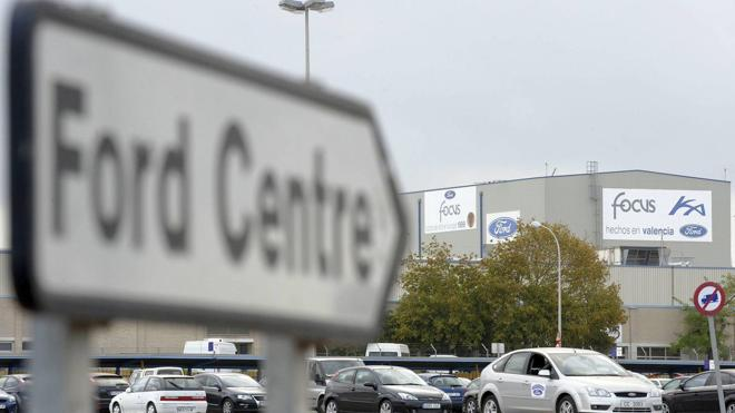 Ford pierde 4 horas de producción por fallos eléctricos debido al temporal