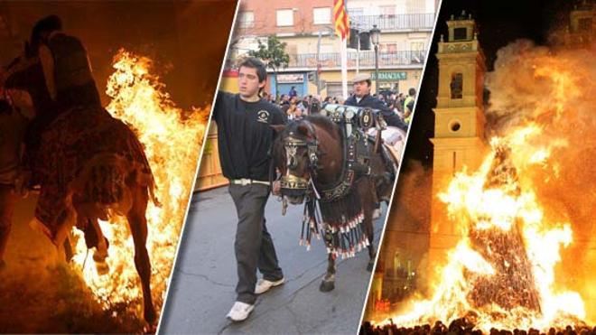 30 localidades de la Comunitat Valenciana que celebran San Antonio Abad