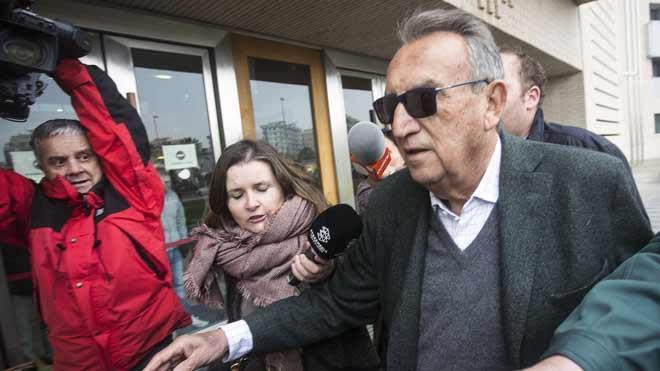 Carlos Fabra se acoge a su derecho a no declarar por presuntas irregularidades en un patrocinio de Aerocas