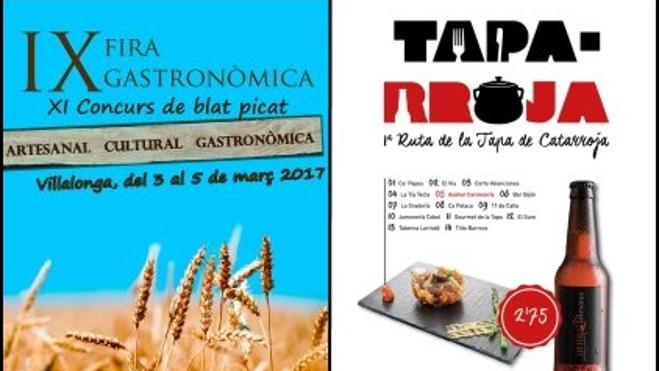 Cuatro rutas gastronómicas para este fin de semana en la Comunitat Valenciana