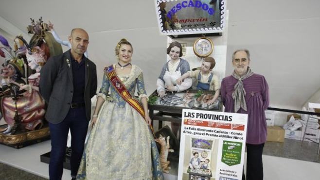 El premio LAS PROVINCIAS al Ninot Tradicional también recae en Almirante Cadarso