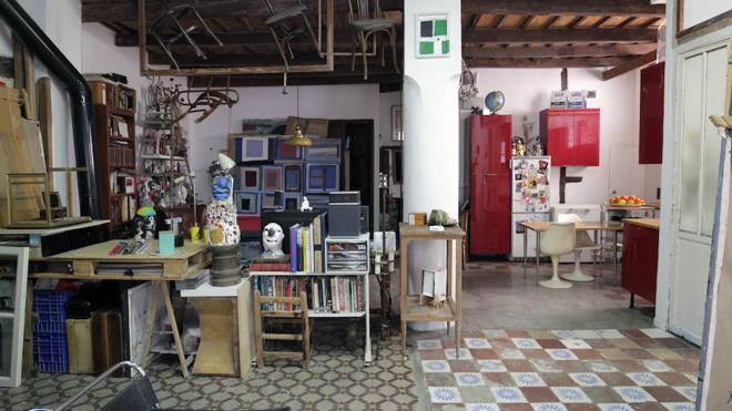 La casa-estudio de Jorge Carla