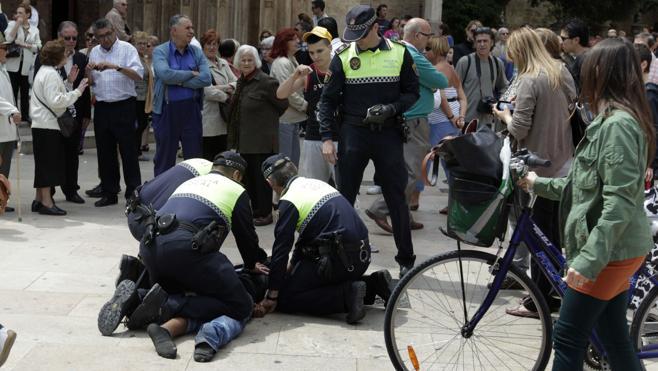 Las Fallas se saldan con 628 detenidos por la Policía, 3.716 infracciones penales y 3.525 actas de posesión de drogas