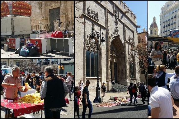 Los comerciantes cargan contra el caos en muchas calles del centro en Fallas