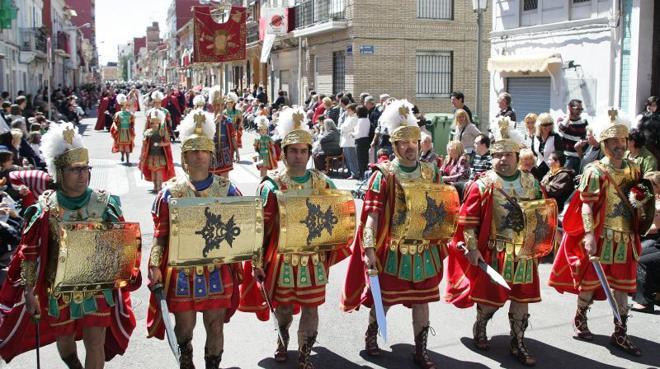 Desfile de Domingo de Resurrección en la Semana Santa Marinera de Valencia