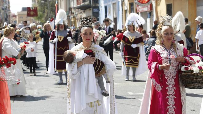 Matinal de Santos Encuentros y desfile de Resurrección en la Semana Santa Marinera