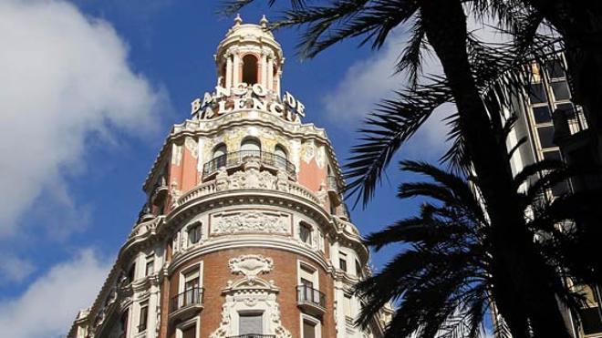 Ciudadanos promueve una declaración institucional para mantener el edificio Banco de Valencia