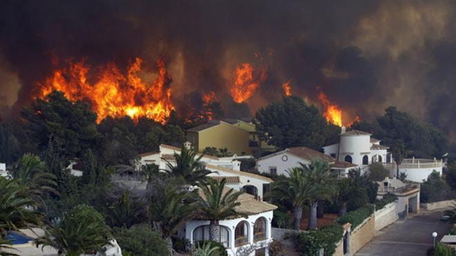 El Consell aprueba una ayuda de 201.750 € por los incendios en Artana, Benitatxell y Bolulla