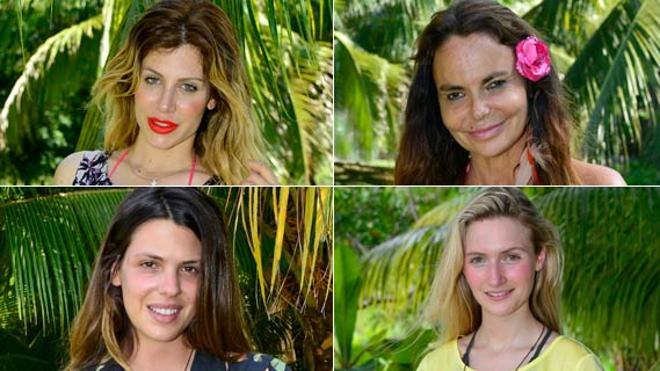 'Supervivientes' | Laura Matamoros, Paola Caruso, Leticia Sabater y Janet Capdevila, primeras nominadas del 'reality'