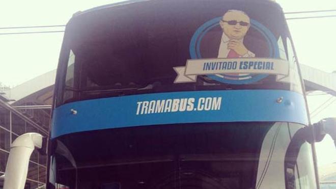El tramabús de Podemos llega a la Comunitat