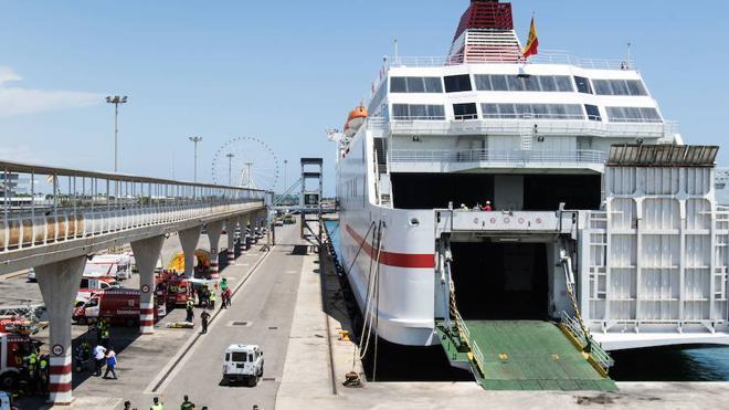Trasmediterranea iniciará la conexión estival Gandia-Ibiza a partir del 16 de junio con una frecuencia diaria