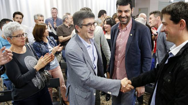 Patxi López: «Unir al PSOE no quiere decir unir a la mitad en contra de la otra mitad»