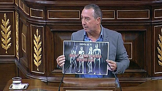 Joan Baldoví (Compromís), el líder político más valorado de España