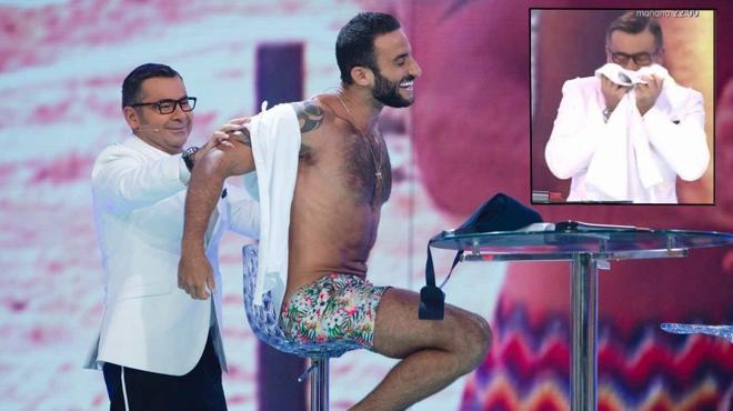 Jorge Javier Vázquez y Eliad Cohen, calentón en directo en 'Supervivientes'